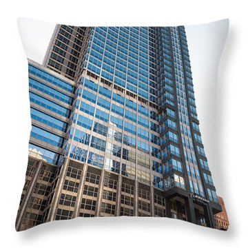 Boeing World Hq Chicago Throw Pillow