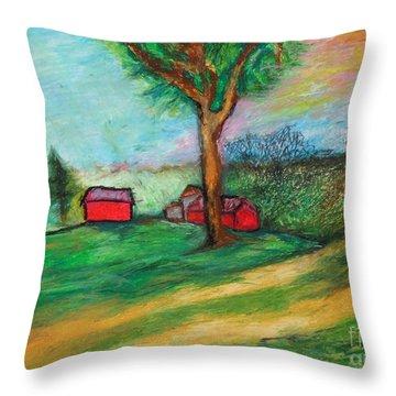Boerjan's Farm Throw Pillow