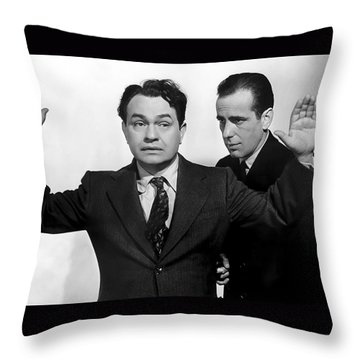Edward G. Robinson Throw Pillows