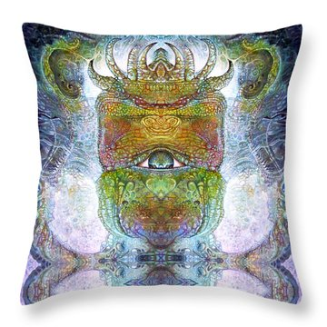 Bogomil Variation 15 Throw Pillow