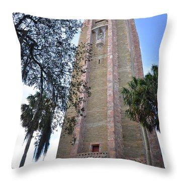 Bok Singing Tower Throw Pillow