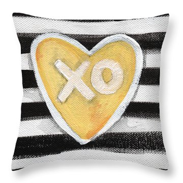 Bold Love Throw Pillow