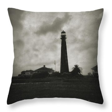Bolivar Lighthouse Throw Pillow