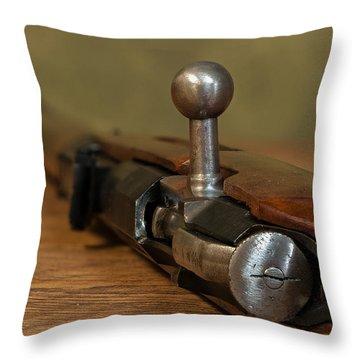 Bolt Action Throw Pillow