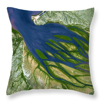 Bombetoka Bay Madagascar Throw Pillow
