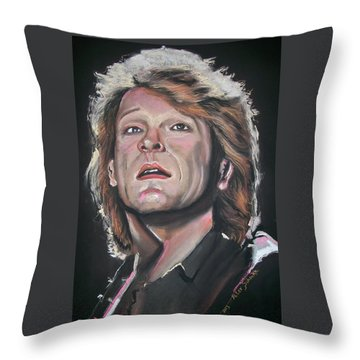 Bon Jovi Throw Pillow