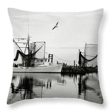 Bon Temps Throw Pillow by Scott Pellegrin