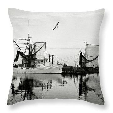 Bon Temps Throw Pillow