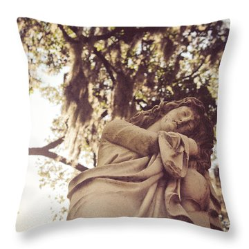 Bonaventure  Throw Pillow by Jessica Brawley