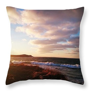 Bonavista Bay Throw Pillow