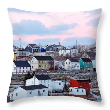 Bonavista Throw Pillow by Zinvolle Art