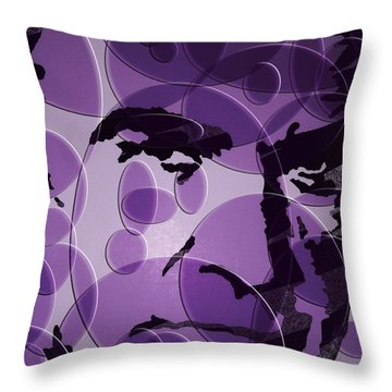 Bond Is Back Throw Pillow by Robert Margetts