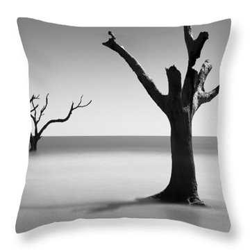 Boneyard Beach - IIi Throw Pillow