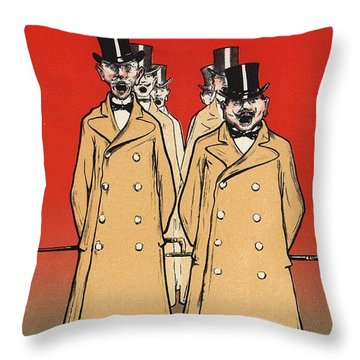 Bonne Cafetiere Throw Pillow by Gianfranco Weiss