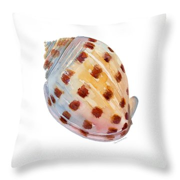 Bonnet Shell Throw Pillow