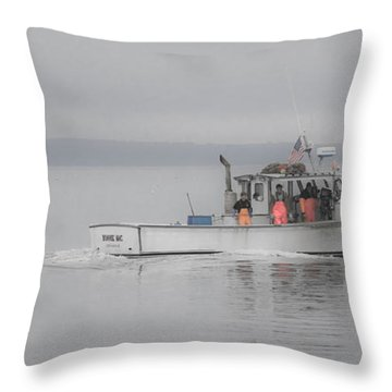 Bonnie Mac Throw Pillow
