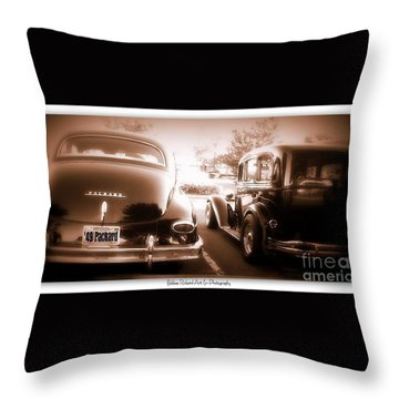 Bonnie N' Clyde Throw Pillow