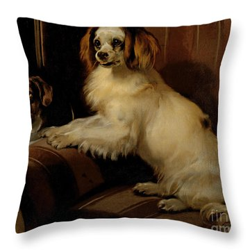 Bony And Var Throw Pillow