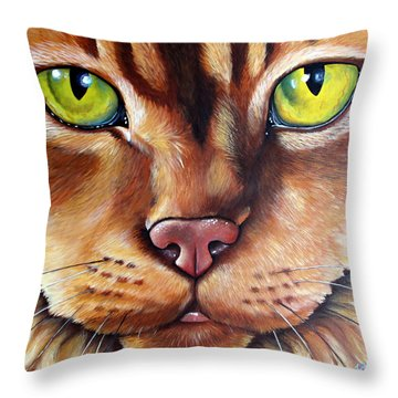 Booboo Throw Pillow
