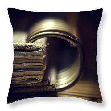 Book Of Secrets Throw Pillow
