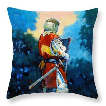 Bookend II Throw Pillow