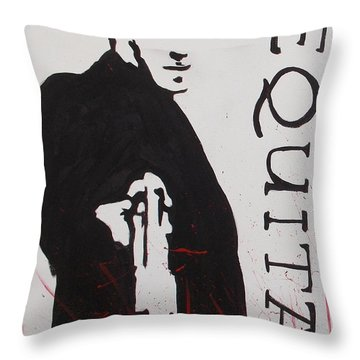 Boondock Saints Panel One Throw Pillow