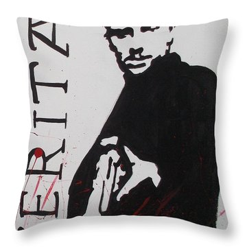 Boondock Saints Panel Two Throw Pillow
