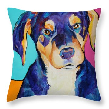 Boone Throw Pillow by Pat Saunders-White