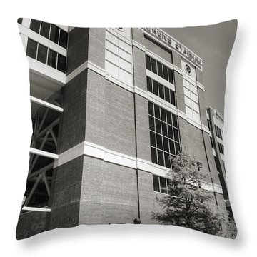 Boone Pickens Stadium II Throw Pillow