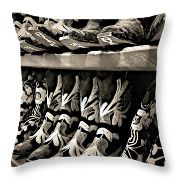 Boot Camp Throw Pillow