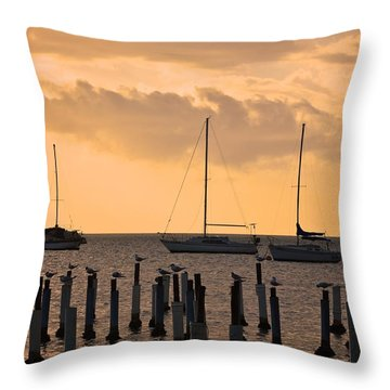 Boqueron 4891 Throw Pillow