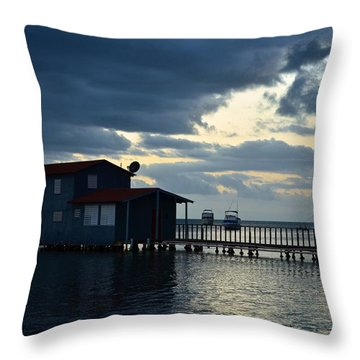 Boqueron 5034 Throw Pillow