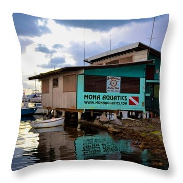 Boqueron 5044 Throw Pillow