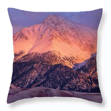 Borah Peak  Throw Pillow