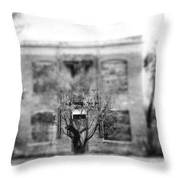 Bordello Throw Pillow by Justin Moranville