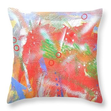 Borderline Throw Pillow