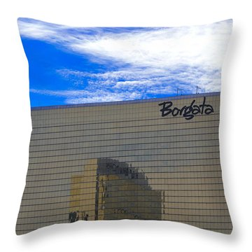 Borgata Throw Pillow