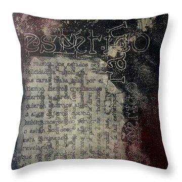 Borges 5 Throw Pillow