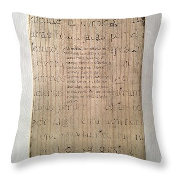 Borges 4 Throw Pillow
