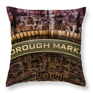 Borough Archway Throw Pillow