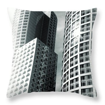 Boston Architecture Throw Pillow