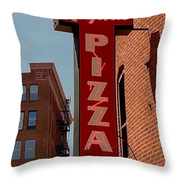 Boston Institution Throw Pillow