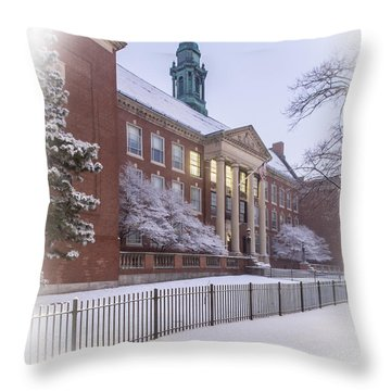 Boston Latin School Throw Pillow