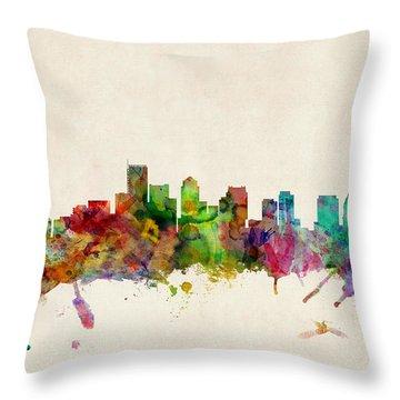City Scenes Throw Pillows