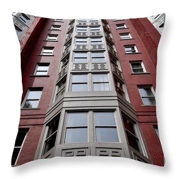 Boston Skyscraper Throw Pillow