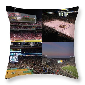 Arena Throw Pillows