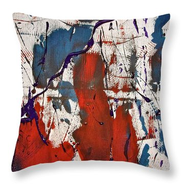 Boston Throw Pillow by Stephanie Moore