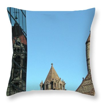 Boston Unity Reflected 2853 Throw Pillow