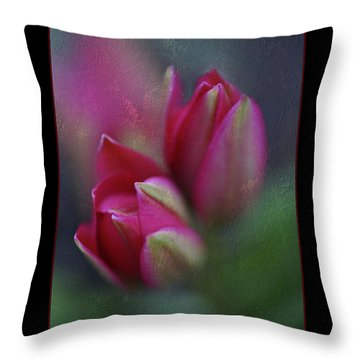 Throw Pillow featuring the photograph Botanic by Annie Snel