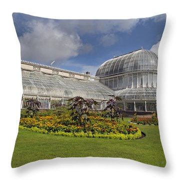 Botanic Gardens Belfast Ireland Throw Pillow